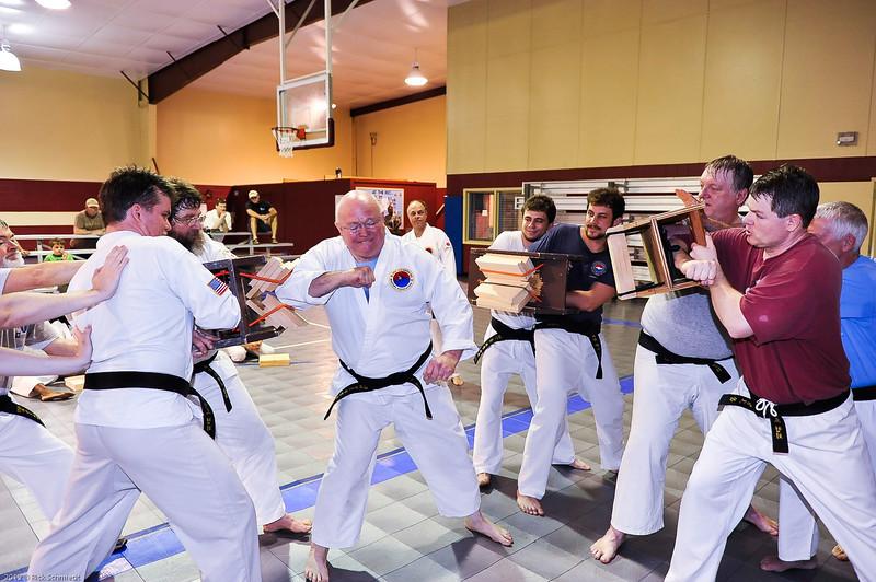 USATMA Board Breaking Practice 2012 IOP-143