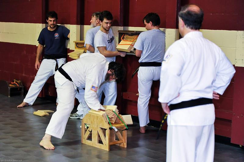 USATMA Board Breaking Practice 2012 IOP-128