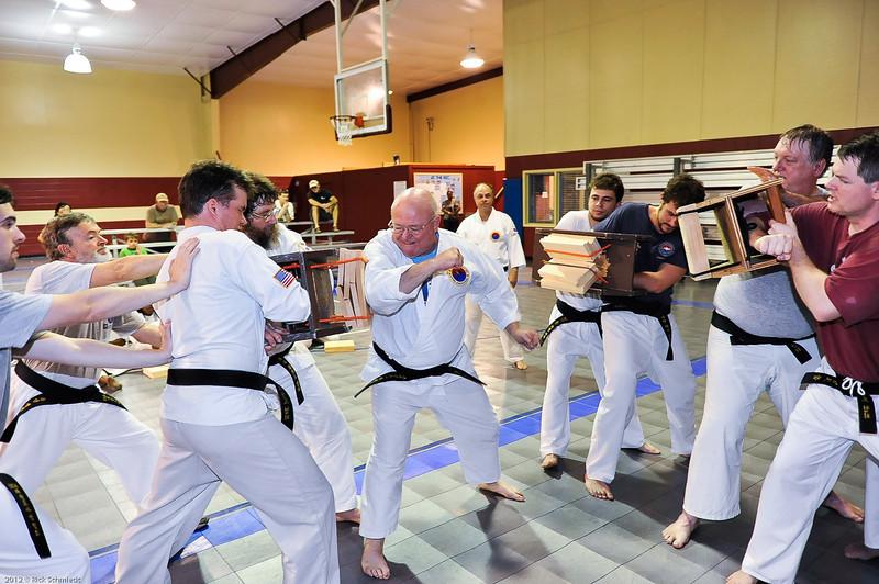 USATMA Board Breaking Practice 2012 IOP-141