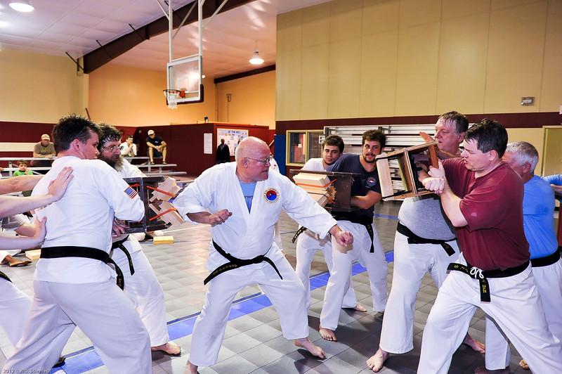 USATMA Board Breaking Practice 2012 IOP-144