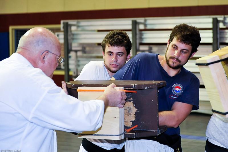 USATMA Board Breaking Practice 2012 IOP-137