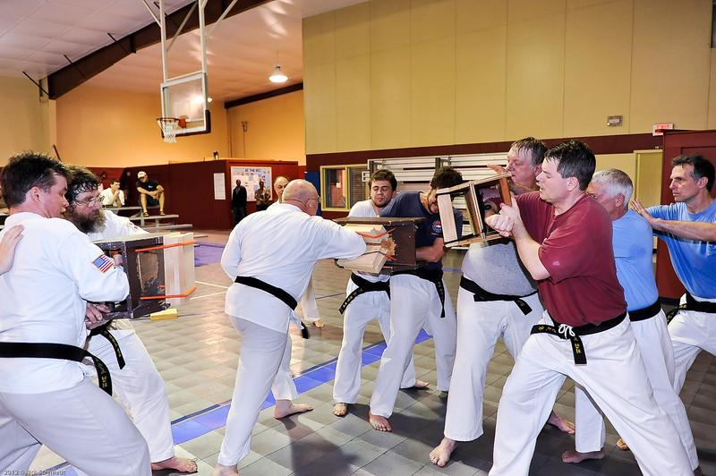 USATMA Board Breaking Practice 2012 IOP-140