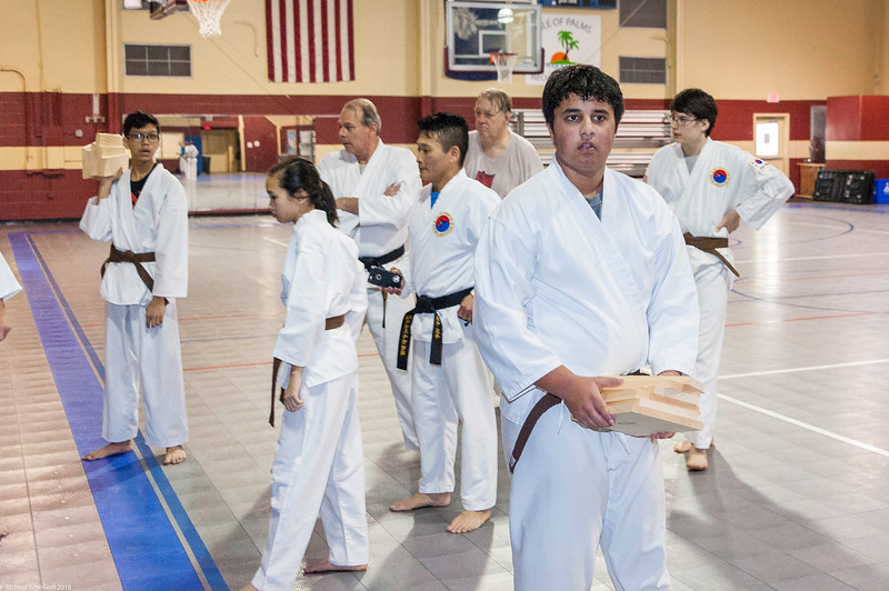 USATMA Black Belt Board Breaking 2018-187