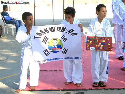 Taekwondo Exhibition in SJdS