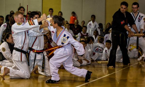 Taekwondo Graduation April 1, 2016