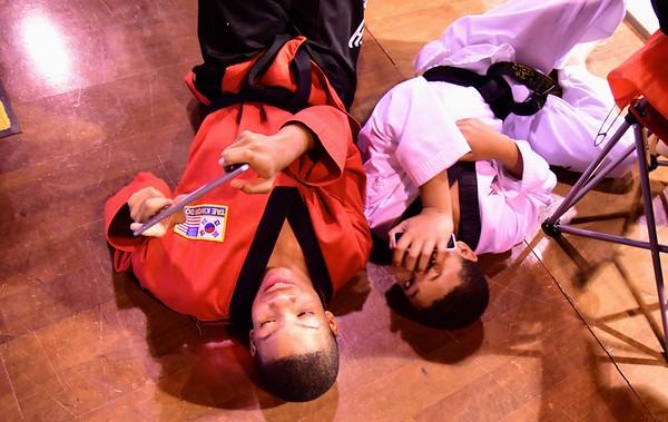 Black Belt Test, December 6, 2014