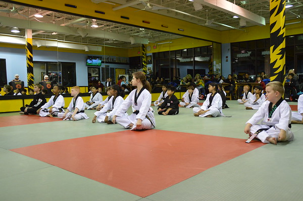 Broadlands Promotion Test - Black Belts, December 3, 2014