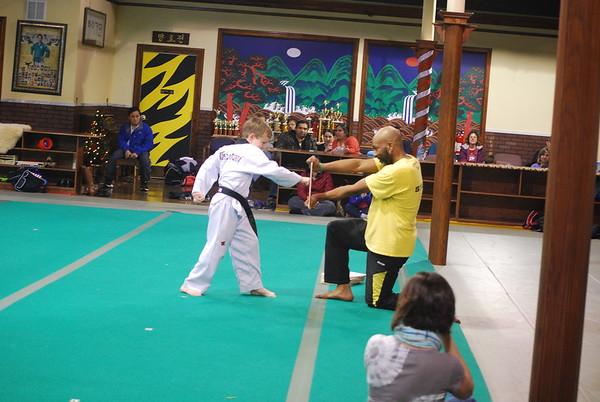 Franklin Farm Promotion Test - Black Belts, December 11, 2014