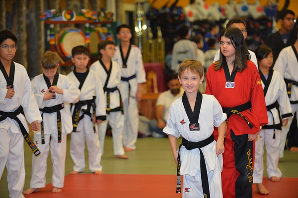 Leesburg Promotion Test - Black Belts, December 5, 2014