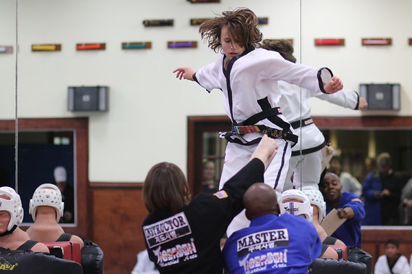 Sterling Promotion Test - Black Belts, December 9, 2014