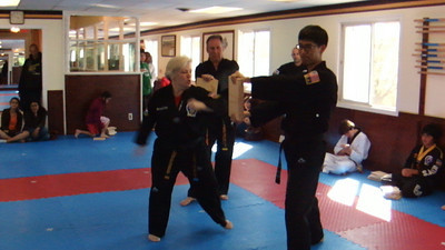 Cindy Instructor Breaking (Ridge Hand)