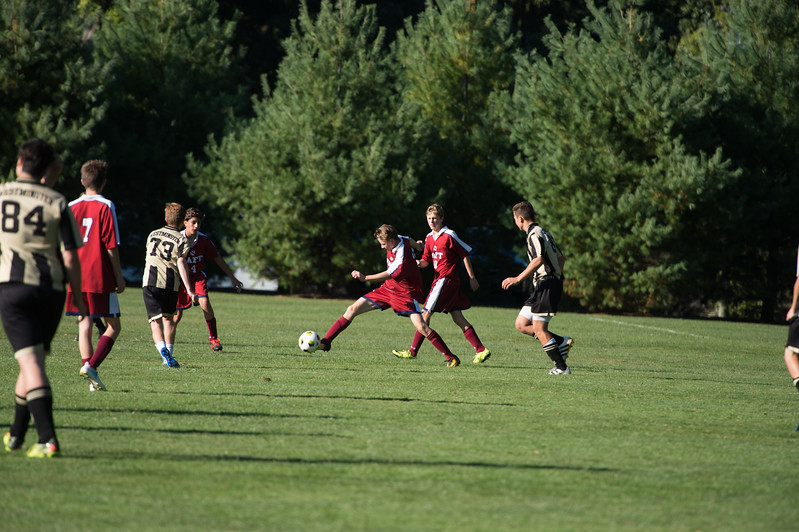 Boys' Fourths Soccer v Westminster