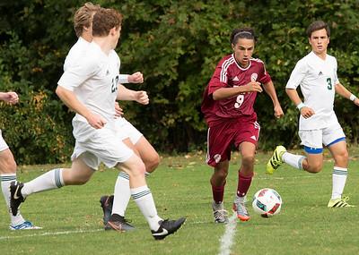 Boys' JV Soccer vs Berkshire