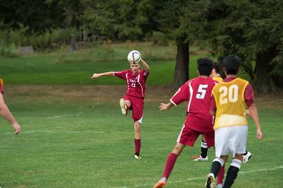 Boys' Thirds Soccer v Salisbury