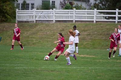 Girls' JV Soccer vs Hopkins School