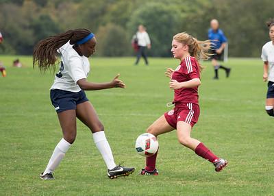 Girls' JV Soccer vs Hotchkiss