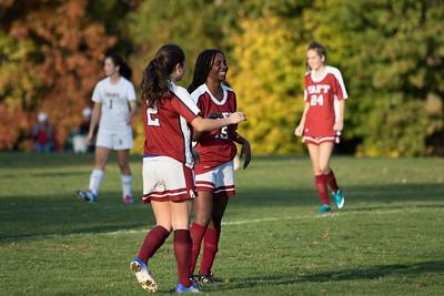 Girls' Thirds Soccer v Westminster