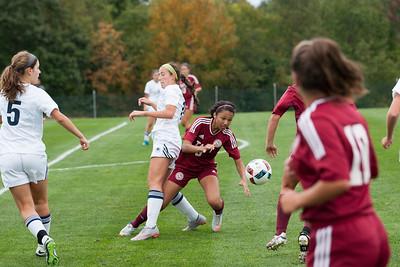 Girls' Varsity Soccer vs Rye Country Day School