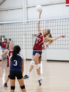 Thirds Volleyball vs Hotchkiss