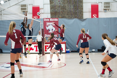 Varsity Volleyball v Andover