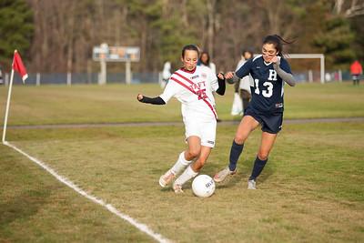 Girls'  JV Soccer v Hotchkiss
