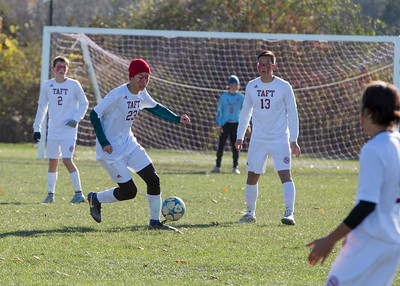 Boys' JV Soccer vs Hotchkiss during Taft-Hotchkiss Day