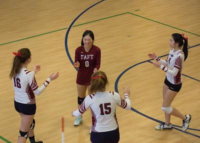 JV Volleyball vs Hotchkiss during Taft-Hotchkiss Day