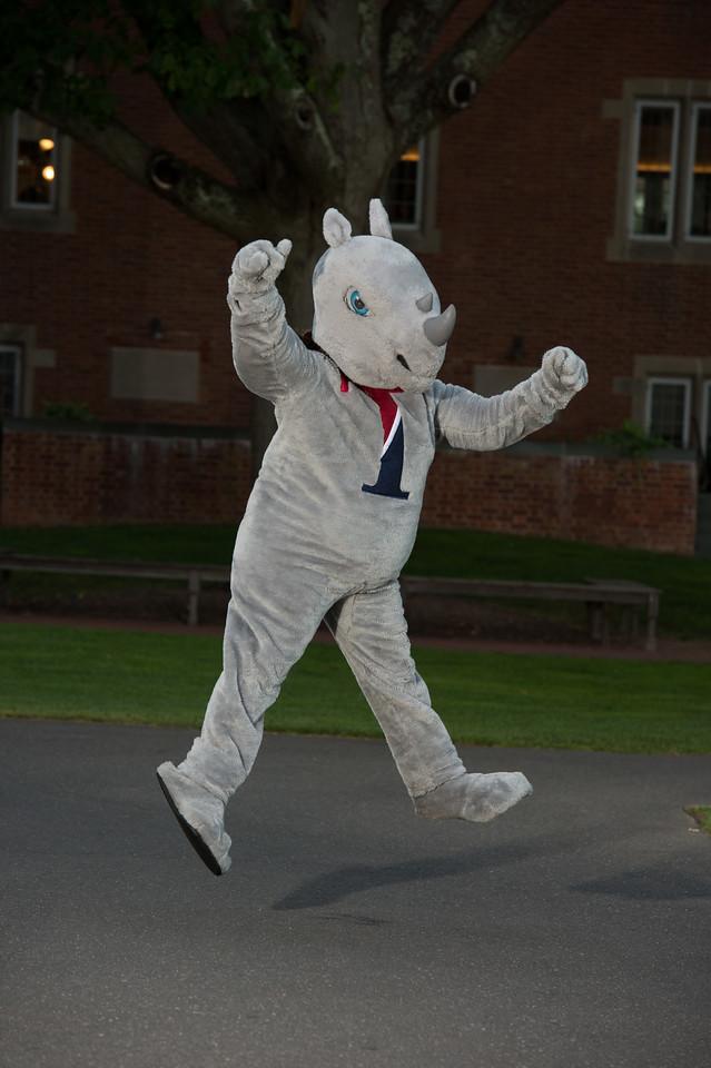 Rhino Mascot Fall 2017