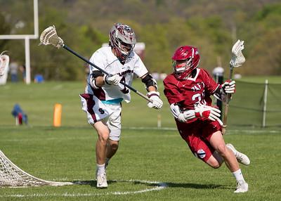 Boys' JV Lacrosse vs Salisbury