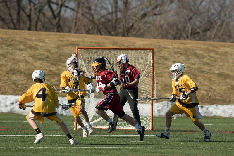 Boys' Thirds Lacrosse vs Brunswick