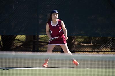 Girls' Thirds Tennis v Gunnery
