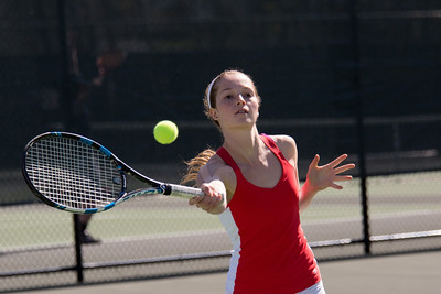 Girls Varsity Tennis vs Greenwich Academy