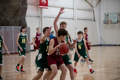 Boys' Fourths Basketball v Forman