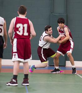 Boys' Fourths Basketball v Hebrew