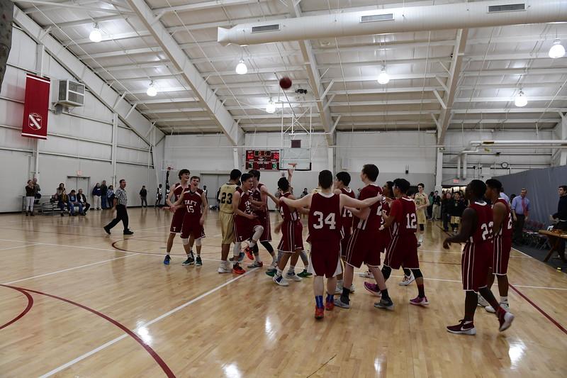 Boys' JV Basketball v Westminster