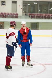 Boys' Junior Varsity hockey vs Faculty game