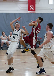 Boys' Thirds Basketball vs Kent