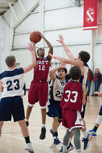 Boys' Thirds Basketball v Hotchkiss