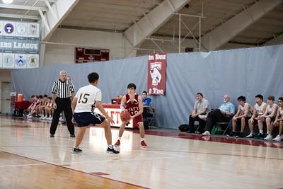 Boys' Thirds Basketball v Choate