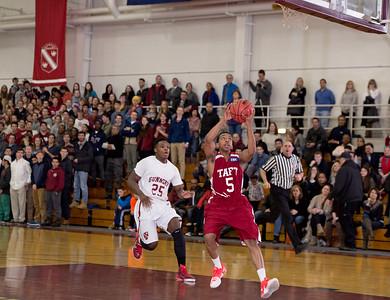 Taft Varsity Basketball v Gunnery