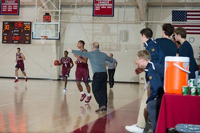 Boys' Varsity Basketball vs Choate