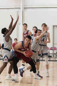Boys' Varsity Basketball v Kent