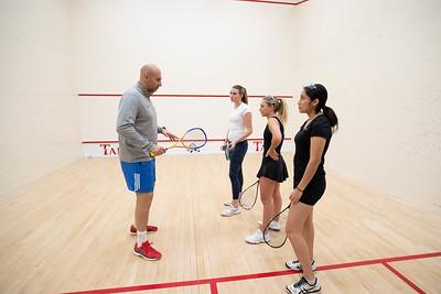Squash Clinic with Omar El Borolossy