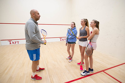 Squash Clinic with Omar El Borolossy