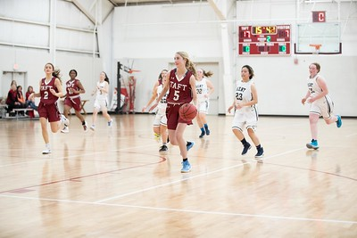 Girls' JV Basketball v Kent