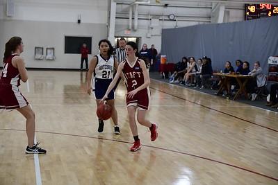 Girls' JV Basketball v Hotchkiss