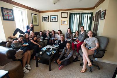 Girls' JV Basketball Ice Cream Feed