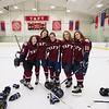 Girls' Thirds Hockey v Female Faculty