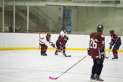 Girls' III Hockey vs Female Faculty