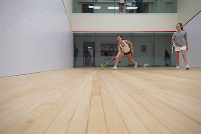 Girls' Thirds Squash v Deerfield